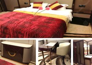 China Eco -  Friendly Marriott Luxury Hotel Bedroom Furniture With Modern King Bed on sale