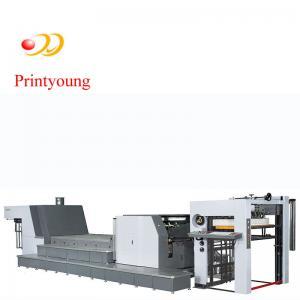 China Carton Box Flexo Printing Glazing Machine WIth Ceramic Anilox for Paper Printer on sale