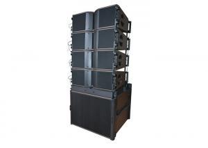 China Lightweight Ground Stack Line Array , Music Playback Sound System Line Array on sale