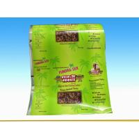 Hot Stamping Bopp Lamination Woven Plastic Feed Bags For Seeds / Nuts