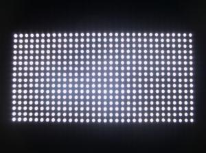 Quality Single White P10 Semi - Outdoor LED Display Module High Brightness for sale