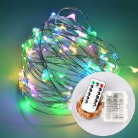 China 13 Key IR Remote Control 3*AA Battery Powered LED String Lights For Christmas, Party, Festival Decoraction on sale