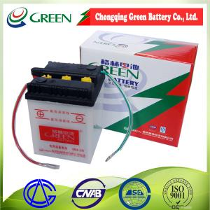 China Batterie au plomb rechargeable du vert 6v 4ah de 6N4-2A Chine Chongqing, batterie de la moto 6v on sale