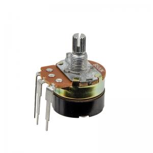 China Pin Type Carbon Composition Potentiometer With Switch Dimmer Switch Speed Controller on sale