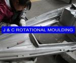 rotational molding kayak mold
