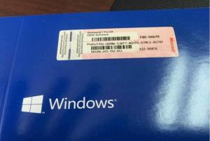 Quality Computer Windows 7 Professional Retail Box Softwares with COA sticker for sale