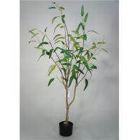 5 Feet Artificial Decorative Trees Eucalypt Bonsai Easy Care With Pot Base
