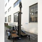 12m lockable pneumatic telescopic mast 50kg payloads NR-2500-12000-50L