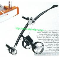 China Germany Design Electric Golf Trolley with water-proof battery tray on sale