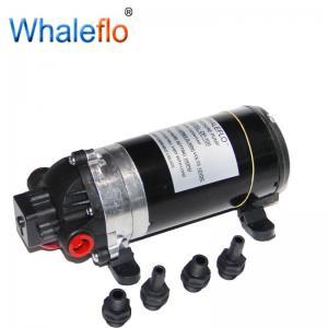 China WHALEFLO DP-160 irrigation ultra high pressure portable diaphragm 12v water pump on sale