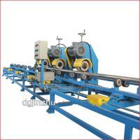 China High Efficiency Polishing Machine Metal Linishing Machines For Big Metal Pipe on sale