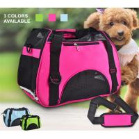 Small Dogs Soft / Foldable Portable Pet Carrier Bag With Mesh Breathable Side