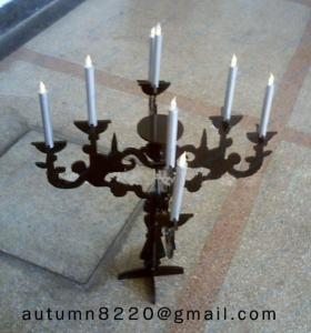 China Church Halloween Candle Holders on sale