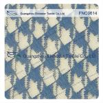 Classic Houndstooth  Irregular 42% Nylon 58% Cotton Fabric for casual wear