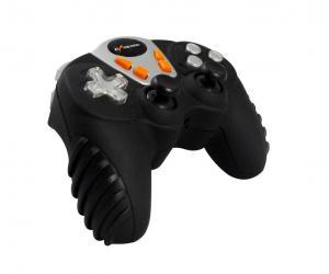 12 Button 4 Axis RF Wireless Gamepad , Analog / Digital Mini Game
