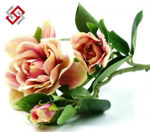 China Chrismas Decoration Artificial Silk Flower Gardenia on sale