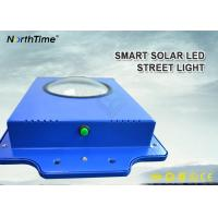 Time Control 6W Smart Solar LED Street Light 600-700LM With Infrared Motion Sensor