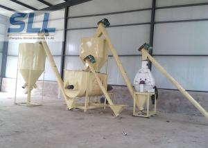 China Simple Type Dry Mortar Production Line / Portable Dry Mortar Machine on sale