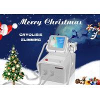 Cryolipolysis Fat Freeze Slimming Machine , RF Radio Frequency Fat Reduction Machine