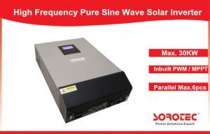 China Multi Function 220V / 230VAC Solar Energy Inverter Pure Sine Wave Inverte SSP3118C on sale