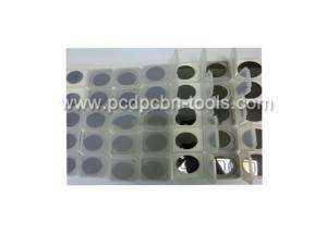 China Diamond Segment PCD Blanks For Inserts Diamond Tips Tungsten Carbide Base on sale
