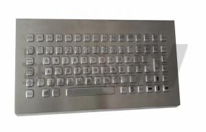 China Metallic IP65 Industrial Desktop Keyboard Without Number Pad on sale