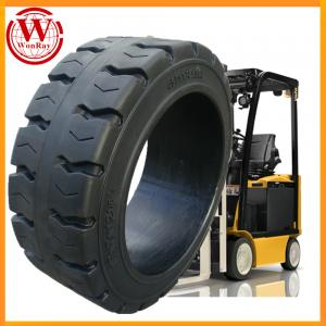 China Good Price Forklift Press on Solid Rubber 21x7x15 Cushion Tires on sale