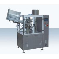 Toothpaste / Plastic Tube Sealing Machine , Cosmetic Tube Filling Sealing Machine