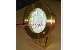 China Fully Brass Underwater Fountain Lights 196mm Height 139mm Diameter Of Different Lighting Angles on sale