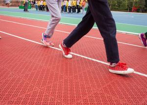 China All Weather Multi Purpose Sports Flooring Non Skid Customization Available on sale