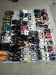 Used shoes sport /leather for men,all summer used shoes and  used clothing, used bags