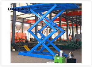 China Double Acting Single Piston Hydraulic Scissor Lift  for Engineering Machinery on sale