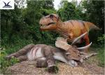 Playground Giant Realistic Dinosaur Skeleton SculptureFor Amusement  Park Exhibition