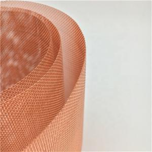 China Wear Resistant Copper Wire Mesh For Aerospace / Information Industry on sale