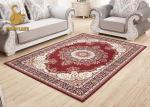 Comfortable Red Persian Carpet For Houseware OEM / ODM Acceptable