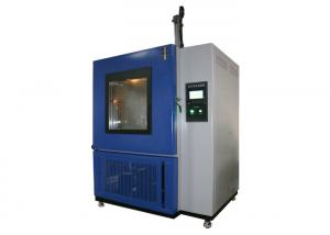 China 0 to 4℃ Temperature Shock with Splash Water Test Chamber for Automotive Components on sale