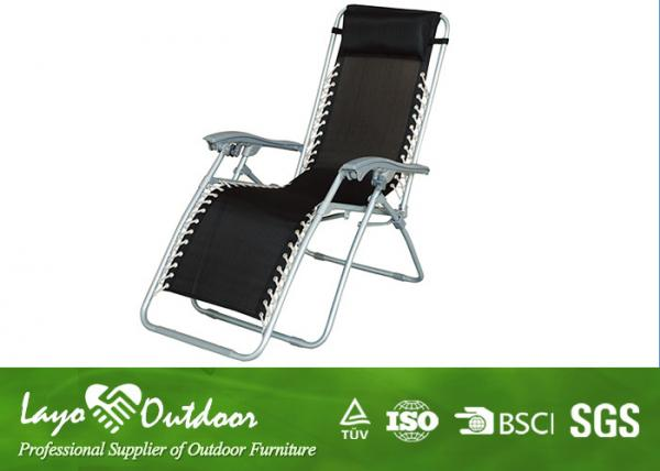 High Seat Folding Beach Chair Zero Gravity Sling / Textile Fabric Outdoor Furniture Images  sc 1 st  Patio Outdoor Furniture - Everychina & High Seat Folding Beach Chair Zero Gravity Sling / Textile Fabric ...