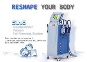 China Powerful Multifunctional Cryolipolysis Machine Cellulite Reduction Machine With 4 Handpieces on sale