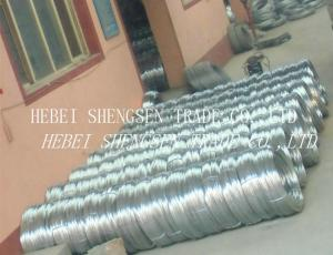 China High Tension Galvanized Iron Wire BWG 21 Q195 Low Carbon For Construction on sale