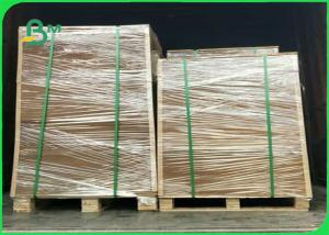 China C1S White Lined Grey Board 450g 400g Jumbo Roll 1160cm For Packaging Box on sale