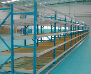 China Effective Carton Flow Rack , ABS Skate Wheels  Carton Warehouse   Industrial Storage on sale
