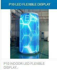 China led flexible display,p6.p10.p6.7 and so on on sale