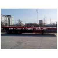 Strong trailer frame 40 foot 48 foot 18 foot 16 foot flatbed trailer extendable with warranty