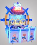 Ocean Video Fishing Arcade Games Machines Coin Operated Redemption Game For 3 Players