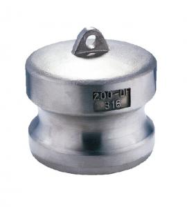 China Type DP MIL-A-A-59326 Aluminium Camlock Couplings Casting Technology on sale