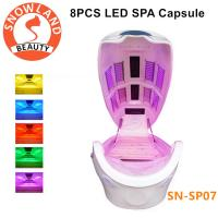 Luxury Beauty DVD Hydro SPA Capsule With Stone Vibration White Photon Therapy SPA