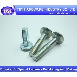 China Carriage Bolt/ Round Head Square Neck Bolts on sale