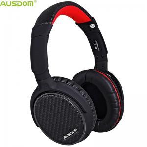 China Ausdom ANC7 Hot Selling Over Ear Active Noise Cancelling Apt-X Adjustable Durable HiFi CD Like Sound Bluetooth Headphone on sale