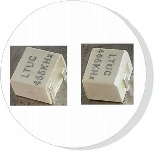 China Piezoelectric Ceramic Filter CFUCG455KH1X-R0 LTUC455KHx,Group delay time,low insertion loss,1dB ripple, on sale