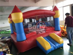 China Mini Inflatable Bouncer Combo / Outdoor Giant Toys Kids Bounce House For Party on sale